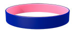 072C/210C Colored Wristband