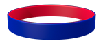 072C/186C Colored Wristband