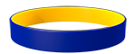 072C/YellowC Colored Wristband