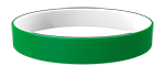 355C/White Colored Wristband