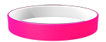 806C/White Colored Wristband