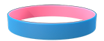 284C/210C Colored Wristband