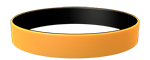 142C/Black Colored Wristband