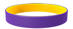 266C/YellowC Colored Wristband