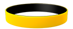 YellowC/Black Colored Wristband