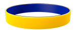 YellowC/Blue Colored Wristband