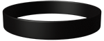 Black Colored Wristband
