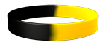 Black/YellowC Colored Wristband