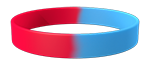186C/292C Colored Wristband