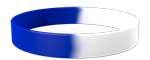 White/072C Colored Wristband