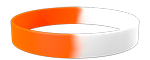White/021C Colored Wristband