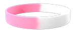 White/210C Colored Wristband