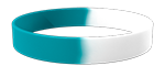 White/327C Colored Wristband