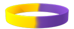 YellowC/266C Colored Wristband