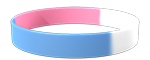 210C/White/292C Colored Wristband