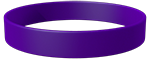 VioletC Colored Wristband