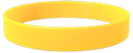 YellowC Colored Wristband